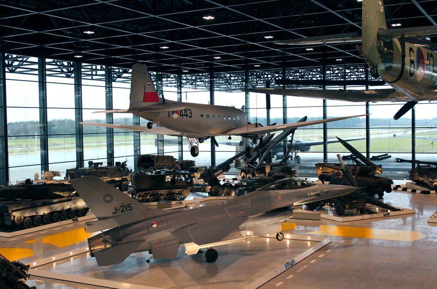 Kinderexcursie Nationaal Militair Museum 4 april 2020
