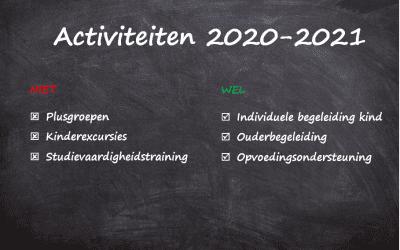 Activiteiten 2020-2021